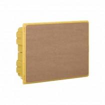 Bo� te de encastrés jaunes 8 modules DIN Line Space Bticino F315S8