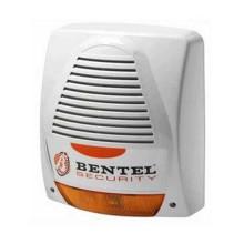 Bentel CALL-FPI sirena autoalimentata con antischiuma e lampeggiatore da esterno IP34