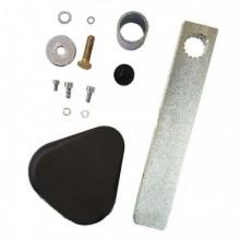 FAAC 428342 - Tasca di fissaggio per asta rettangolare - barriera B614 / B615 / B620