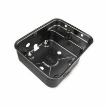 NICE MFABBOX Deep drawn case foundation box, cataphoresis finish, for underground motors