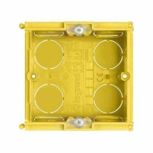 Flush-mounting box in resin 2 modules Bticino 502E