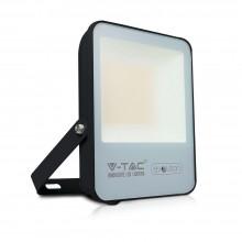 V-TAC Evolution VT-4961 50W Led Floodlight black slim smd Super Bright 160LM/W day white 4000K IP65 - SKU 5918