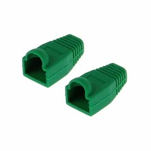 Gommini copri plugs connettori RJ-45 confezione da 10 pezzi Verde