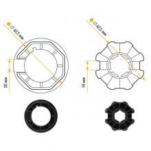 NICE 515.07000 Era M Ottagonal Series Adapter 70x (1 ÷ 1,5) Größe Ø 45 mm Rad + Krone