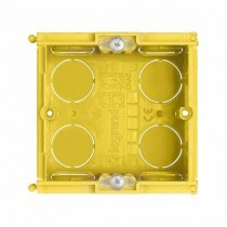 Flush-mounting box in resin 2 modules Bticino 502E