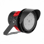 V-TAC PRO VT-501D Faro sport led light 500W chip samsung driver meanwell in alluminio nero dimmable 5000K - SKU 493