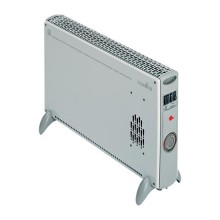 Portable and wall-mounted convector and fan heater Vortice CALDORE RT - sku 70221