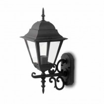 V-TAC VT-761 Applique du jardin grand Lamp IP44 Facing Up E27 noir - sku 7521