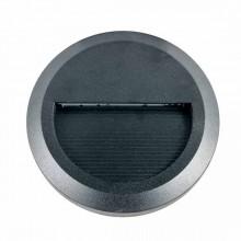 V-TAC VT-1142-B Lampada applique LED 2W parete segnapasso bianco naturale 4000K rotondo nero IP65 - SKU 1316