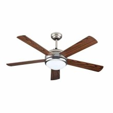 V-TAC VT-6052-5 LED Ceiling Fan 60W AC-Motor 5 Blades with 15W led lamp 3IN1 color change - sku 7913