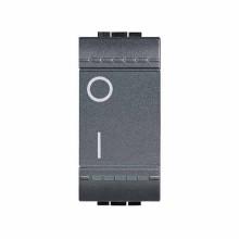 One-way Switches 2P 16 AX - 250 Vac Bticino Livinglight L4002N