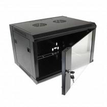"""Armoire Rack Suspendu Noir RAL9004 19"""" 6U 450mm"""
