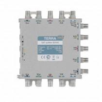 Divisore Splitter montante SAT 2 vie serie NET5 new case Pressofusione TERRA 90SD-504