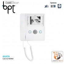 "Video receiver handset 3.5"" black and white LCD display AGATA V"