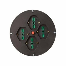 Disque filaire de rechange Ø145/205 pour enrouleur de câble 4 prises + coupe-circuit thermique Fanton 01906