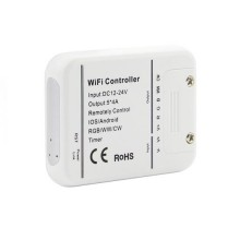 V-TAC Smart Home VT-5009 Wi-Fi Controller-Dimmer für LED-Streifen funktioniert mit dem Smartphone - sku 8426