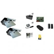 Kit FROG-A automazione cancello battente con motori interrati per ante 3,5mt 400kg  U1901ML
