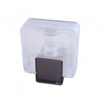 Wireless flashing light with built-in photovoltaic panel Nice