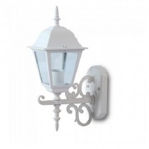 V-TAC VT-760 Portalampada lanterna Small Facing UP alluminio IP44 bianco E27 - sku 7520