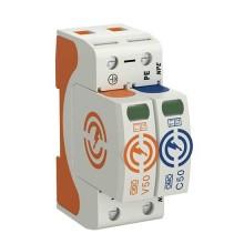 OBO Bettermann 5093522 Combination arrestor for power supply systems V50 1-pole + NPE 280 V