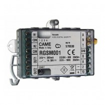 Came RGSM001 GSM module stand-alone gateway for remote management automation gates + radio receiver
