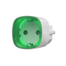 AJAX AJ-SOCKET-W AJSOCKS Presa wireless intelligente con monitoraggio del consumo energetico colore bianco
