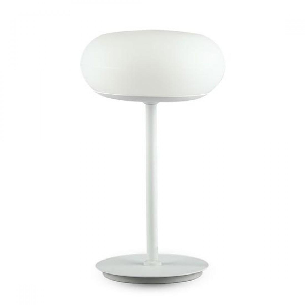 V Tac Vt 7204 Lampada Da Tavolo Led 15w Touch Circolare