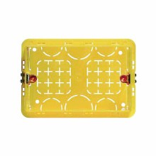 Box of resin Recessed civilians series 3 modules Bticino 503E