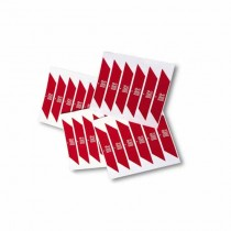Red adhesive reflector strips Nice WA10