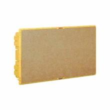 Scatola da incasso Linea Space gialla 18 moduli DIN Bticino F315S18