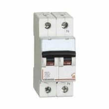 Interruttore magnetotermico 1P+N C 25A - 4,5kA - 2M Bticino FC810NC25