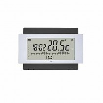 Touch screen Chronothermostat 230V Black Wall Bpt TH/500 BK 230