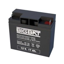 12V 17Ah rechargeable VRLA battery Elan BigBat - sku 01217