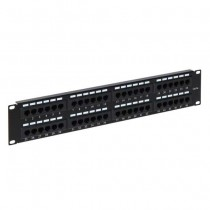 UTP 48 ports Patch panel for Rack Cabinet 19""