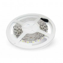 V-TAC VT-5050 Bande de led SMD5050 60LEDs/5M IP20 lumière vert - SKU 2138