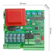 Centralina 230V monofase universale per 1 o 2 motori automazione cancello Start-S4XL + IBR-N