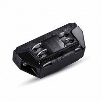 V-TAC 4 Wired Y Series-Connectors for tracklight Black body IP20 - sku 3656