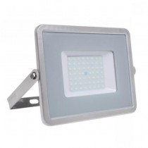 V-TAC PRO VT-56 50W Led Floodlight grey slim Chip Samsung smd high lumens cold white 6400K - SKU 765