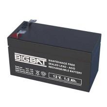 Rechargeable batteries au plomb VRLA 12V 1,2Ah Elan BigBat - sku 012012