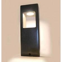 V-TAC VT-898-D 12W LED Gartengrundlicht-Lampe dunkelgrauem Betonkörper IP65 warmweiß 3000K - SKU 8698