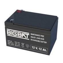 12V 12Ah wiederaufladbare VRLA-Batterie Elan BigBat - sku 01210