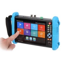 "CCTV Tester Professionale Multifunzione Touch 7"" LCD 5IN1 AHD/HDCVI/TVI/CVBS/IP - Test PoE/Ping/Wifi"