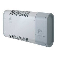 Compact wall-mounted fan heater with digital timer Vortice MICRORAPID T 1000-V0 - sku 70661