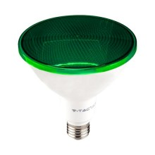 V-TAC VT-1227 17W LED Bulb SMD PAR38 E27 green light waterproof IP65 - SKU 92067