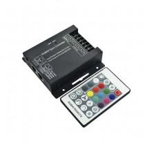V-TAC VT-2424 Contrôleur pour bande LED RGB+W SYNC RJ45 avec télécommande - SKU 3338