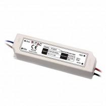 V-TAC VT-22101 Alimentatore slim led 100W 24V 4.2A waterproof IP67 in plastica cavi a saldare  - SKU 3101