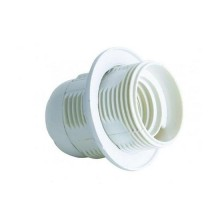 V-TAC E27 lamp holder White thermoplastic IP20 - sku 8839