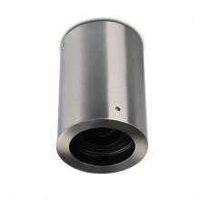 V-TAC VT-796 GU10 Fitting surface mounting round satin nickel metal orientable for GU10/GU5.3 spot lamps IP20 VT-796 - SKU 3629