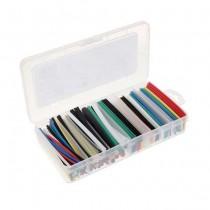 Kit des tubes thermoretractables MACLEAN Boîte en plastique 196pcs