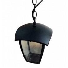 Portalampada lanterna pendente alluminio IP44 Nero grafite E27 - Mod VT-735 SKU 7058 - Nero